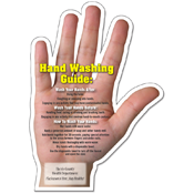 Magnetic Hand Washing Guide