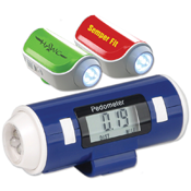 Safety Siren Pedometer