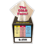 The Cold Facts Magnet
