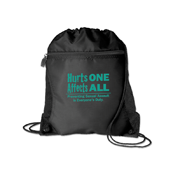 Sexual Assault Drawstring Pack