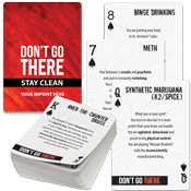 Substance Abuse Awareness Playing Cards (Native)