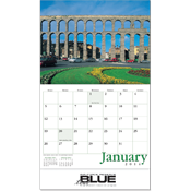 Wall Calendar - The Wonders of the World