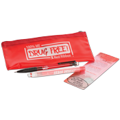 Red Ribbon Pouch Kit