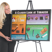 A Closer Look at Tobacco - Display