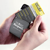 Think Respect Phone Pocket/Wallet Card