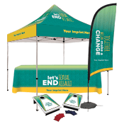 Outdoor Event Kit with Full Color Tent