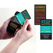 Continuum of Sexual Violence Phone Pocket/Wallet Card