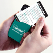 Consent Phone Pocket/Wallet Card