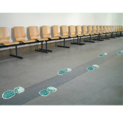 Awareness Steps Floor Decals-Indoor smooth