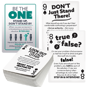 """Be the One"" Playing Cards (custom)"