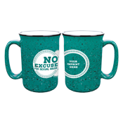Awareness Fireside Mug Teal