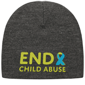 Child Abuse Awareness Beanie