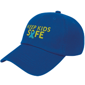 Child Abuse Awareness Cap