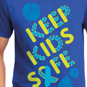 Child Abuse Awareness Cotton Tee