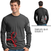 Substance Abuse Awareness Long Sleeve