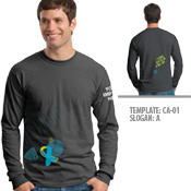 Child Abuse Awareness Long Sleeve