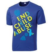 Child Abuse Awareness Performance Shirt