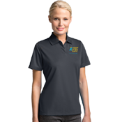 Child Abuse Awareness Tech Polo-Women