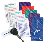 Awareness Wallet Card/Keytag - Native