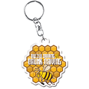 Buzzed Driving Keychain