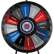 CAF Activity Wheel  Graphics Only
