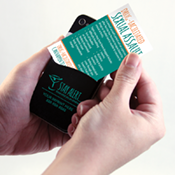 Drug Facilitated Abuse Phone Pocket/Wallet Card