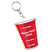 Know Your Lines Keychain