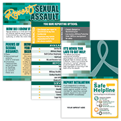 Report Sexual Assault Edu-Display Graphics Only
