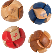 Wood Sphere Puzzler