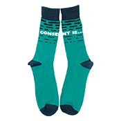 Sexual Assault Awareness Socks Men