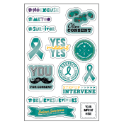 Sexual Assault Prevention Tech Decals