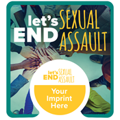 PopSocket® Teal with Sexual Assault Prevention Card