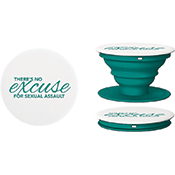 PopSocket® Teal with 1 color imprint
