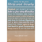 Coping with Stress and Anxiety Magnet