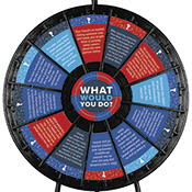 """What Would You Do?"" Wheel- Sextortion/Social Medial Graphics Only"