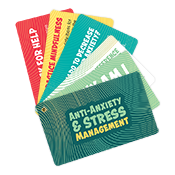 Anti-Anxiety and Stress Info Cards University