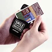 Stress and Addiction Phone Pocket Wallet Card