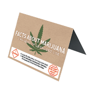 Facts about Marijuana Table Tent Small