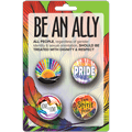 LGBTQ2S Ally Button Pack - Native
