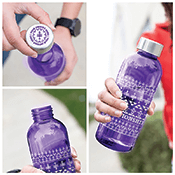 Protector Water Bottle - Native with Lid Imprint