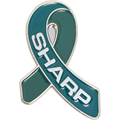 SHARP Ribbon Pin