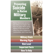 Military and Suicide Edu-Tabs - Native