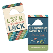 Rearview Mirror Reminder Hang Tag