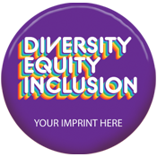 Diversity, Equity, Inclusion Button