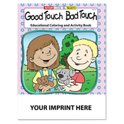 Good Touch Bad Touch Activity Book