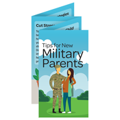 Tips for New Military Parents Mini Brochure