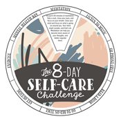 Eight-Day Self-Care Challenge Edu-Wheel