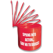 Red Ribbon Spring Thing